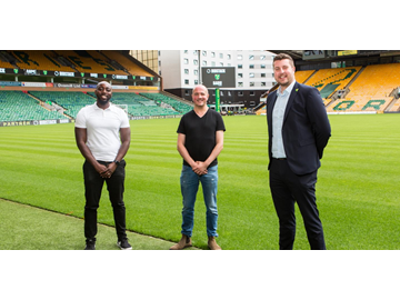 BADU Sports, Bidstack and Norwich City FC partner to give youngsters a sporting chance